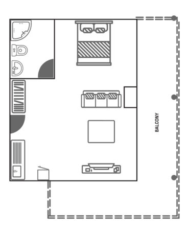 Floor Plan Suite Panorama View