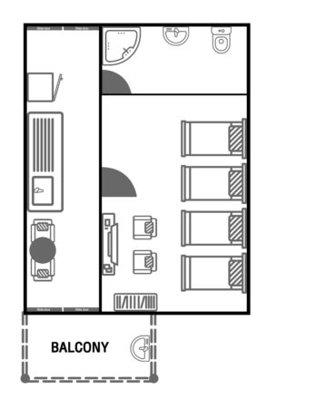 Floor Plan_Family 4 Beds