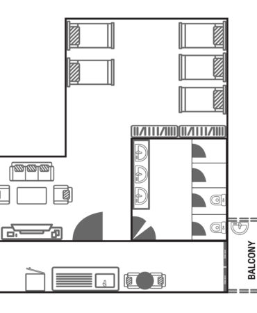 Floor Plan_Family 5 Beds