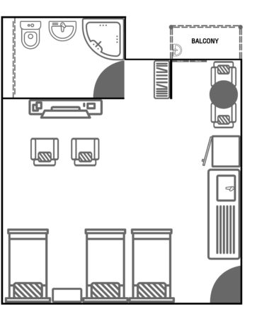 Floor Plan_Family Triple Beds